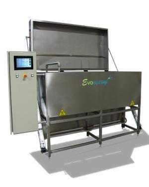 Machine de lavage à jets mobiles