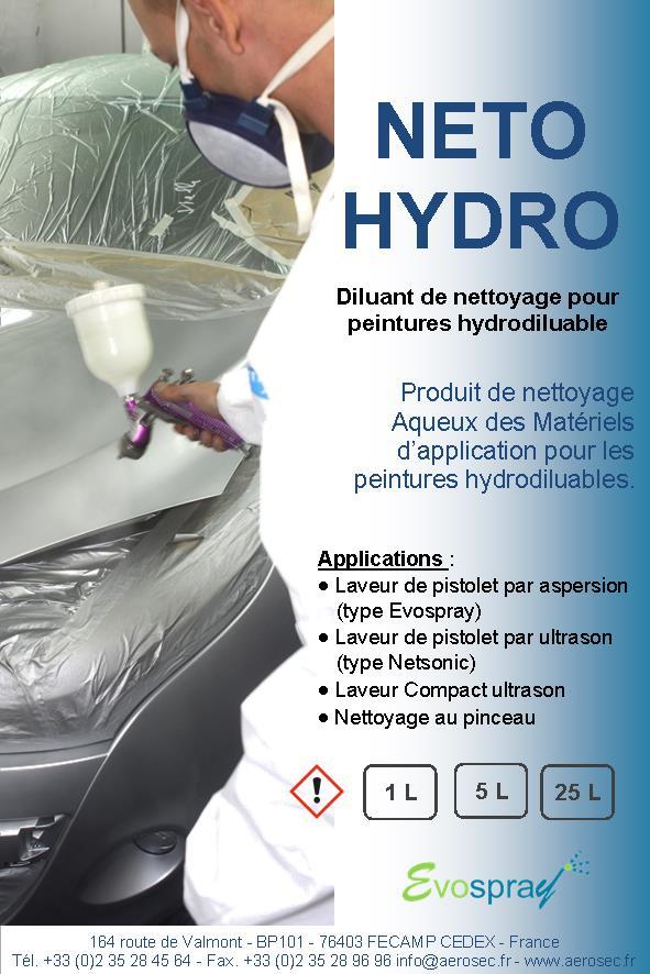 Diluant de nettoyage pour peinture hydrodiluable