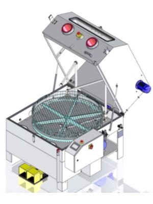 Laveur manuel et automatique par aspersion
