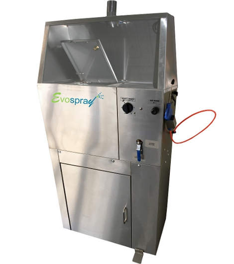 Laveur automatique et manuel avec hotte aspirante
