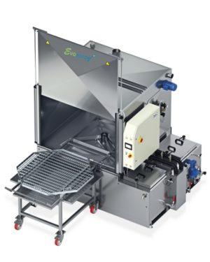 Machine de lavage pièces mécaniques