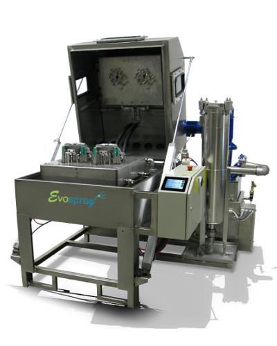 Machine de lavage calibrée